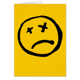 Dead Smiley Card