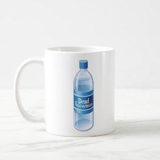 Dead Snowman Melted Bottled Water Coffee Mug