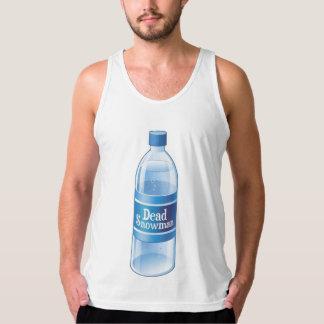 Dead Snowman Melted Bottled Water Tank Top
