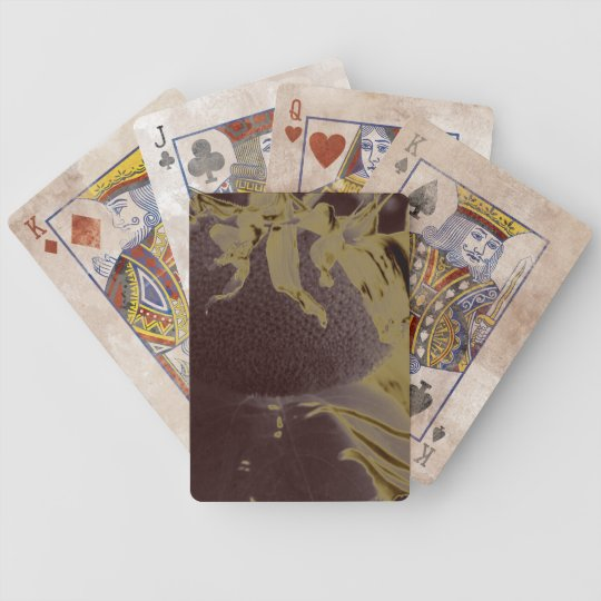 dead sun bicycle playing cards