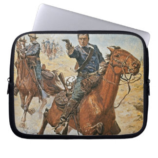 Dead Sure: a U.S. Cavalry trooper in the 1870s (co Computer Sleeve