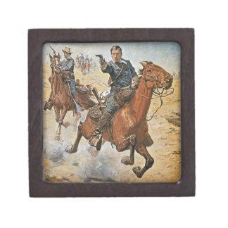 Dead Sure: a U.S. Cavalry trooper in the 1870s (co Jewelry Box