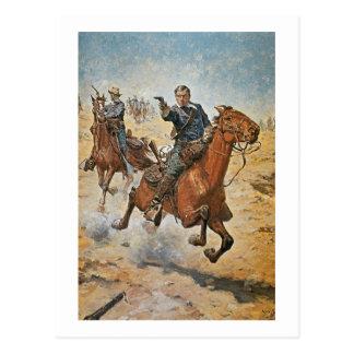 Dead Sure: a U.S. Cavalry trooper in the 1870s (co Postcard