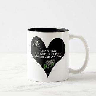 Dead Things Two-Tone Coffee Mug