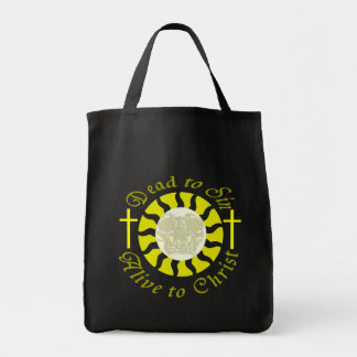 Dead to Sin - Alive to Christ Canvas Bags