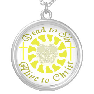 Dead to Sin - Alive to Christ Personalized Necklace