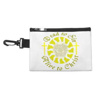 Dead to Sin - Alive to Christ: Romans 6:11 Accessory Bag