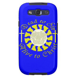 Dead to Sin - Alive to Christ: Romans 6:11 Samsung Galaxy S3 Cover