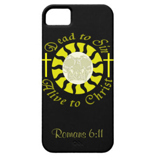 Dead to Sin - Alive to Christ: Romans 6:11 iPhone 5 Cases