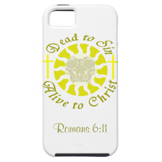 Dead to Sin - Alive to Christ: Romans 6:11 iPhone SE/5/5s Case