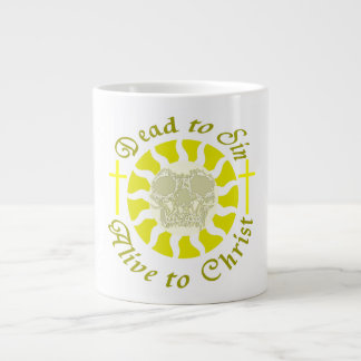 Dead to Sin - Alive to Christ Extra Large Mugs
