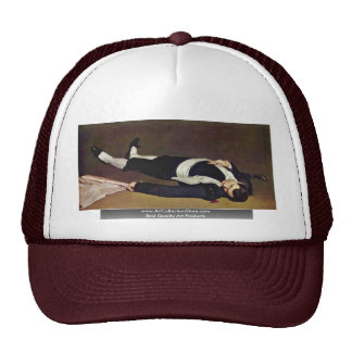 Dead Toreador By Manet Edouard Hat