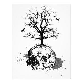 """Dead tree 8.5"""" x 11"""" flyer"""