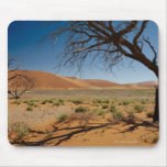 dead tree at dune 45 in desert landscape of mouse pad