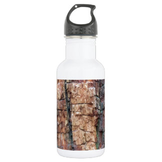 Dead tree bark water bottle
