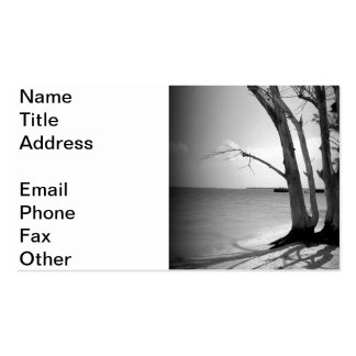 Dead Tree by the Sea Double-Sided Standard Business Cards (Pack Of 100)