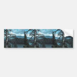 Dead Tree In Lake Tahoe Car Bumper Sticker