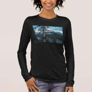 Dead Tree In Lake Tahoe Long Sleeve T-Shirt