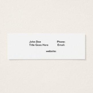 Dead Tree In Lake Tahoe Mini Business Card