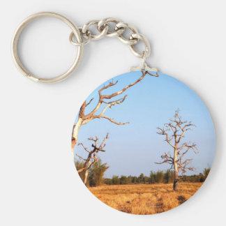 dead tree keychain