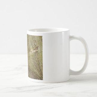 Dead tree rings basic white mug