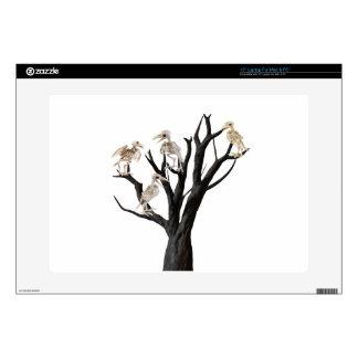 Dead tree skin for laptop