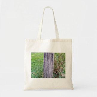 Dead Tree Trunk Tote Bag