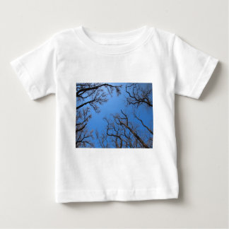 Dead trees in the environmental catastrophe baby T-Shirt