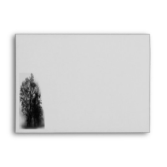 Dead Trees Invitation Envelope