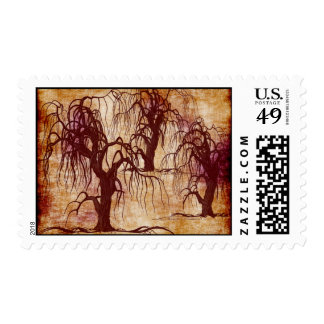 DEAD TREES POSTAGE STAMPS