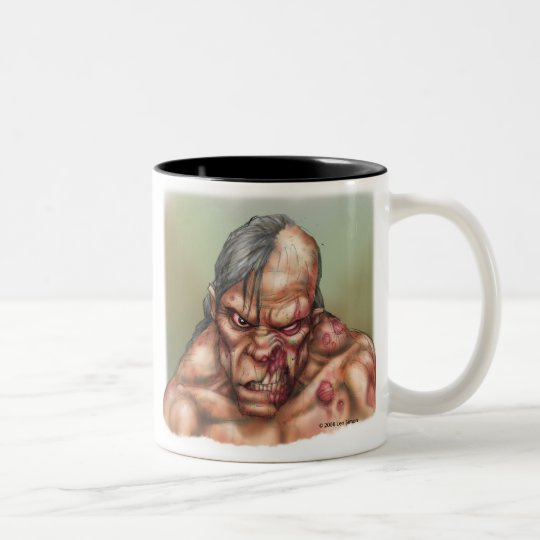 Dead Two-Tone Coffee Mug