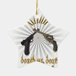 dead vs. dead ceramic ornament