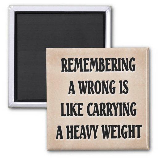 Dead Weight Fridge Magnets