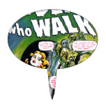 Dead Who Walk - Vintage Zombie Horror Cake Toppers