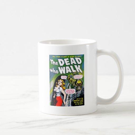 Dead Who Walk - Vintage Zombie Horror Mug