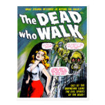 Dead Who Walk - Vintage Zombie Horror Postcards