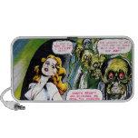 Dead Who Walk - Vintage Zombie Horror Notebook Speakers