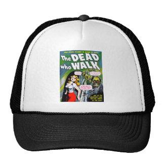 Dead Who Walk - Vintage Zombie Horror Trucker Hat