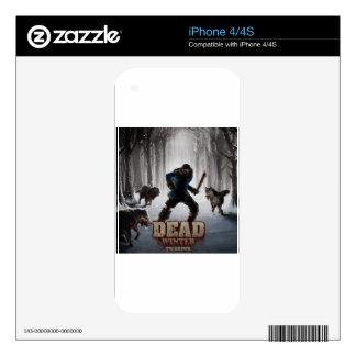 DEAD Winter iPhone 4S Decals