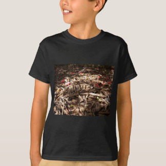 Dead wood and leaves on the forest floor. T-Shirt