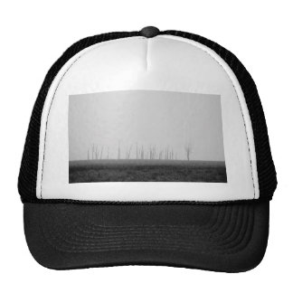 Dead woods on a dark land trucker hat