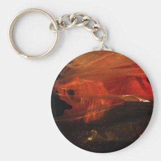 Dead Wrapped in plastic Basic Round Button Keychain