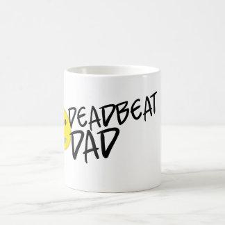Deadbeat Dad Classic White Coffee Mug