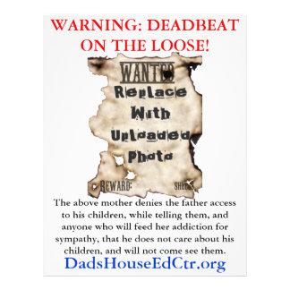 Deadbeat Mom Flyer