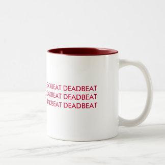 DEADBEAT Two-Tone COFFEE MUG