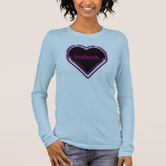 deadend-pnk-prp-glow-logo long sleeve T-Shirt