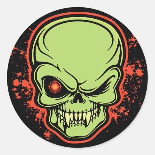 Deadeye Classic Round Sticker