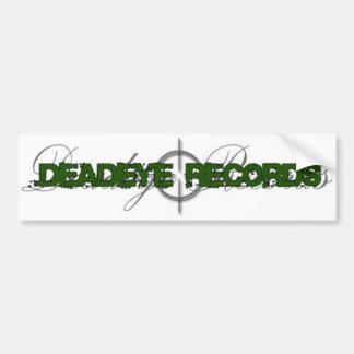 deadeye-logotipo pegatina para auto