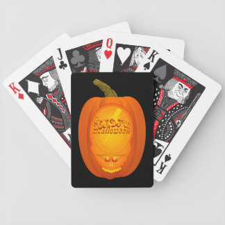 Deadful Haloween Bicycle Playing Cards