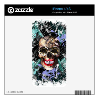 Deadhead_1 women skins for iPhone 4
